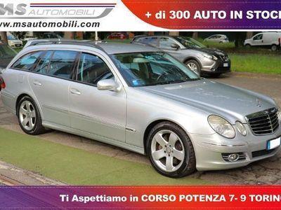 used Mercedes E320 E 320 CDI cat S.W. EVO Avantgarde UnicoproprietarioCDI cat S.W. EVO Avantgarde Unicoproprietario