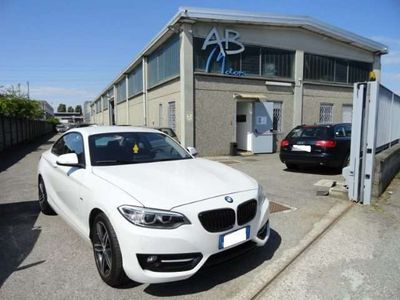usata BMW 218 d Coupé Sport *AUTOMATICA*PDC*NAVI*XENO*CRUISE* rif. 14184278