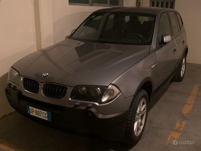 usata BMW X3 3.0 D GASOLIO 4x4