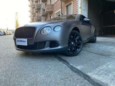 usata Bentley Continental GT MULLINER MATT GREY FULL FULL LIKE NEW! Benzina