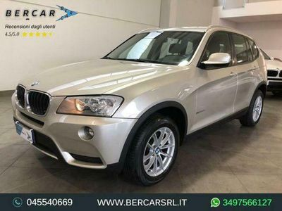 brugt BMW X3 xdrive20d *cambio automatico*