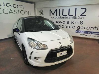 usata DS Automobiles DS3 Cabriolet DS 3 3 1.6 e-HDi 90 airdream CMP6 So Chic