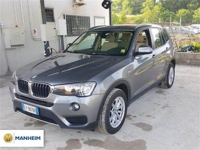 usata BMW X3 xDrive20d xLine 24 MESI DI GARANZIA INCLUSA