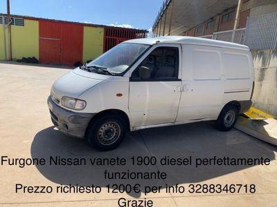 brugt Nissan Vanette