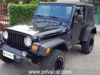 usata Jeep Wrangler ii 2005 2.4 sport c/abs hard top benzina