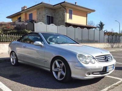 usata Mercedes CLK200 Kompr. TPS cat Cabrio Elegance