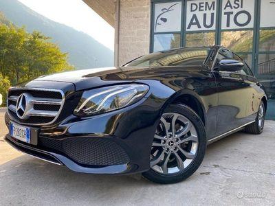 usata Mercedes E200 Auto Sport NAVI GRANDE PACCHETTO LUCI !!! Diesel