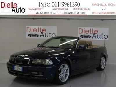 usata BMW 330 Cabriolet Ci *GPL* Benzina/GPL