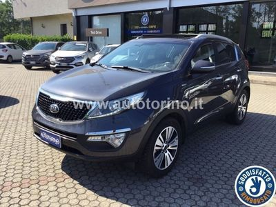 käytetty Kia Sportage SPORTAGE2.0 crdi Feel Rebel awd 136cv auto