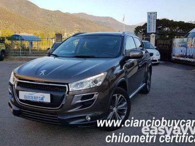 second-hand Peugeot 4008 1.6 HDi 4x4 NON PERMANENTE CHILOMETRI CERTIFICATI rif. 10894084