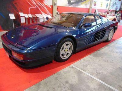 usata Ferrari Testarossa BLU SERA!