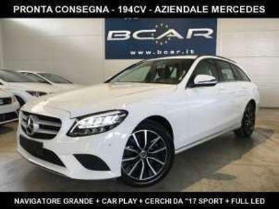 usata Mercedes C220 d S.W. Auto Full LED Cerchi ´´17 Sport Navi+CarPLay Diesel