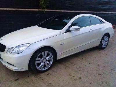 usata Mercedes E350 CDI Coupé bianco metallizzato