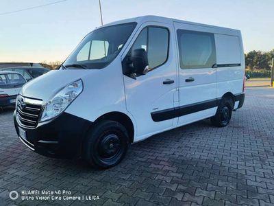 usata Opel Movano 2.2 CDTI 110CV ** DOPPIA CABINA 7 POSTI **
