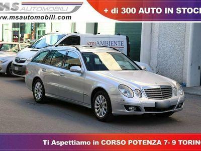 usata Mercedes E220 CDI cat S.W. EVO Elegance Unicoproprietario