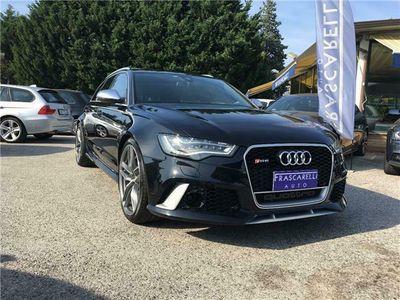 usata Audi RS6 Avant 4.0 / freni carboceramic/km doc/full/belliss
