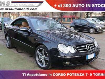 begagnad Mercedes CLK320 CDI Grand Edition Pelle...