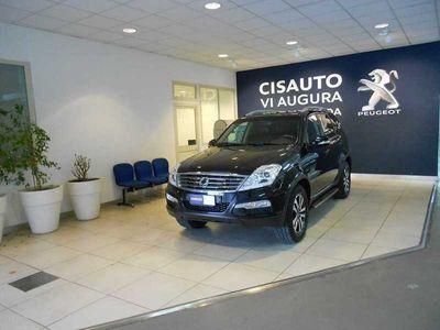 usata Ssangyong Rexton W Xdi 4WD A/T Classy del 2014 usata a Catania