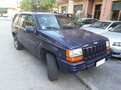 usata Jeep Grand Cherokee Cherokee 2.5 Td 4wd Clima Gancio Traino Usato