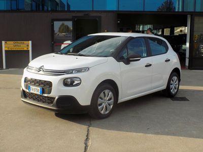 usata Citroën C3 BlueHDi 100 S&S VAN Autocarro 2 Posti - E6Dtemp