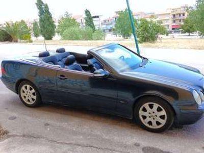 usata Mercedes CLK200 COMPRESSOR Cat Cabriolet Avantgarde
