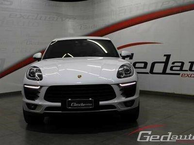 usata Porsche Macan 3.0 S Diesel bi-xenon navigatore pelle led