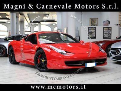 usata Ferrari 458 italia - crono service completa - carbonio + leds