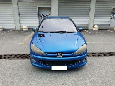 usata Peugeot 206 1.4 16v benzina