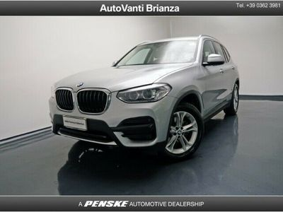 usata BMW X3 xDrive20d Business Advantage