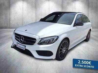 usata Mercedes 220 CLASSE C SW C SWd Premium 4matic auto 9m