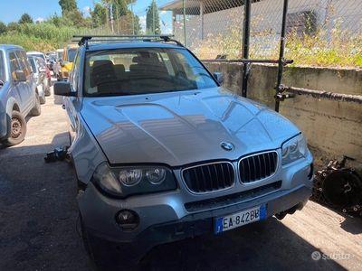 usata BMW X3 2.0 tdi cambio automatico da ripristinare