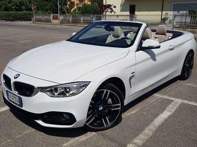 "usata BMW 435 d Xdrive Sport CABRIO Cerchi da 19"" Pelle Navi Msport"