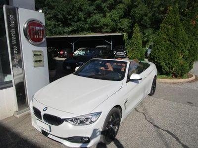 usata BMW 428 Serie 4 Cabrio(F33) xDrive Cabrio Luxury