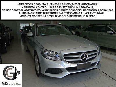 usata Mercedes C200 d BUSINESS SW 1.6,136CV /C. LEGA 17/ABC/TOUCHPAD/