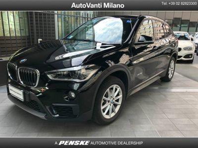 käytetty BMW X1 xDrive18d Business del 2016 usata a Milano