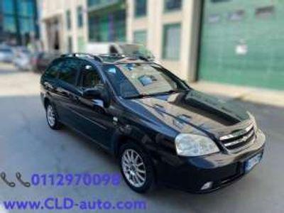 usata Chevrolet Nubira 1.6 16V Station Wagon SE GPL GANCIO TRAINO GPL