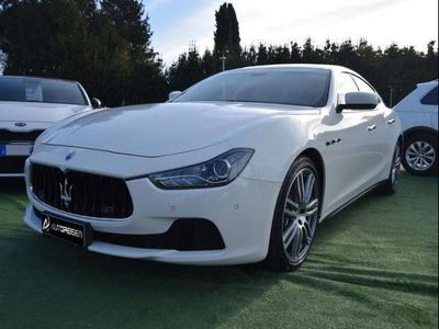 usata Maserati Ghibli 3.0 Diesel 275 CV TETTO, NAVI, FARI BIXENO,