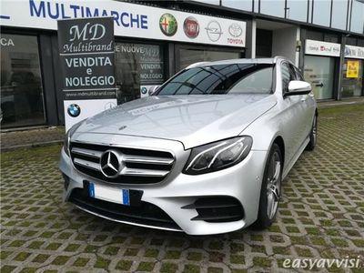 usado Mercedes E220 s.w. auto amg line diesel