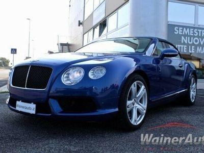 usata Bentley Continental GTC V8 CABRIO SEDILI CLIMA SOSPENSIONI FULL LED