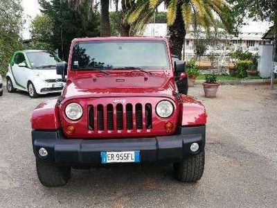 usata Jeep Wrangler 2800cc 200cv Sahara Uniprò