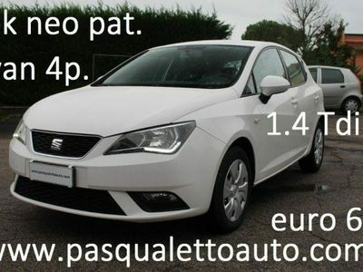 usata Seat Ibiza 1.4 TDI 75 CV CR 5p. Business
