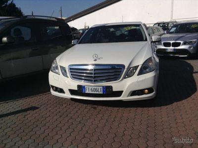 usado Mercedes E200 CDI BlueEFFICIENCY Elegance automatico