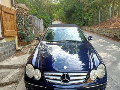 usata Mercedes CLK200 CLK Cabrio 200 k tps Elegance