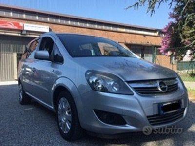 usata Opel Zafira 1.6 Metano 7 Posti Garanzia -2012