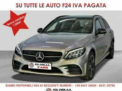 usata Mercedes C300 e SW premium AMG/Distronic/MBUX/Panorama/Night