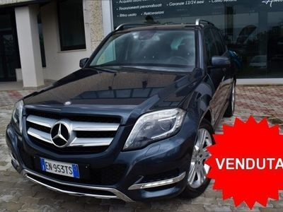 "usata Mercedes GLK220 CDI 4MATIC BLUE EFFICIENCY SPORT+CAM+19""+FULL!!"