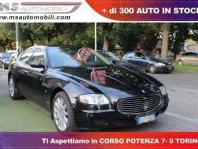 usata Maserati Quattroporte 4.2 v8 automatico navigatore pelle unicoproprietar benzina