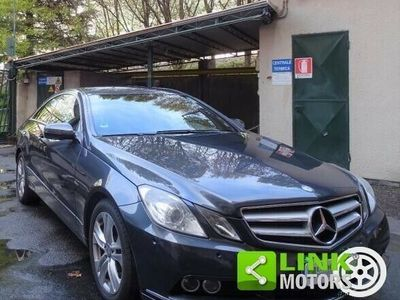 usata Mercedes E250 CDI Coupé BlueEFFICIENCY Avantg.