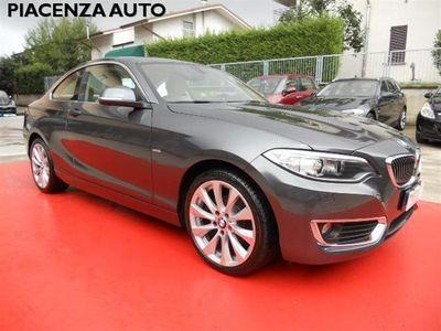 used BMW 218 d Coupé Luxury.NAVI.PELLE.PDC.CERCHI 18
