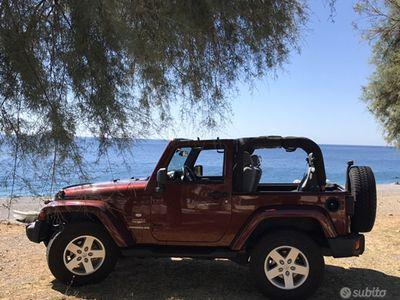 usata Jeep Wrangler 2.8 CRD cambio automatico